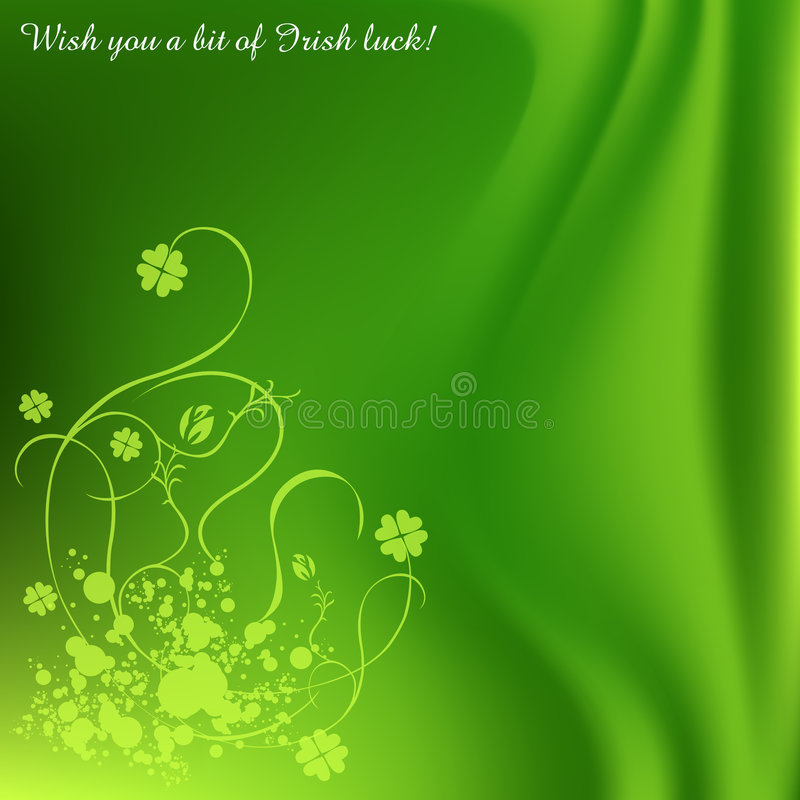 dni tła jest święty Patrick royalty ilustracja