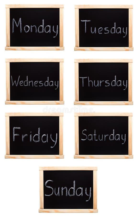 Download Dni tygodnia obraz stock. Obraz złożonej z tydzień, pisze - 33586633