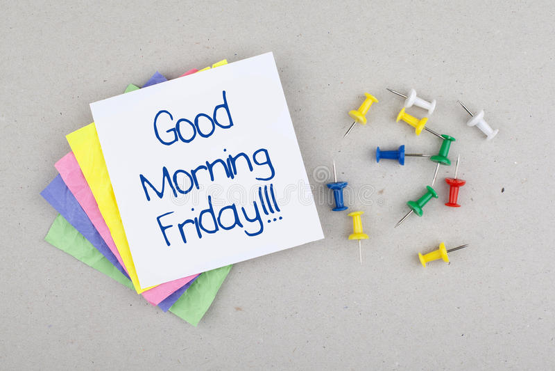 Dnia Dobrego Piątku notatki wiadomość, Ostatni dzień tydzień/ obraz royalty free