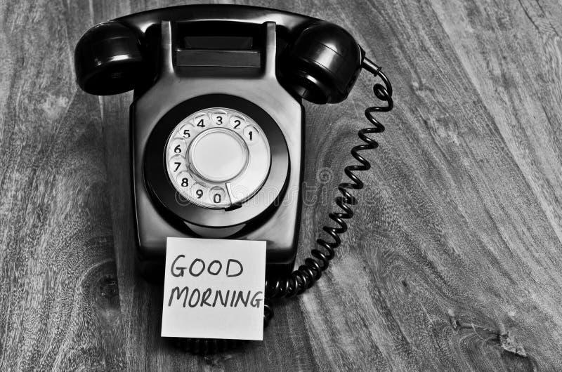 Dnia dobrego telefoniczny pojęcie obrazy royalty free