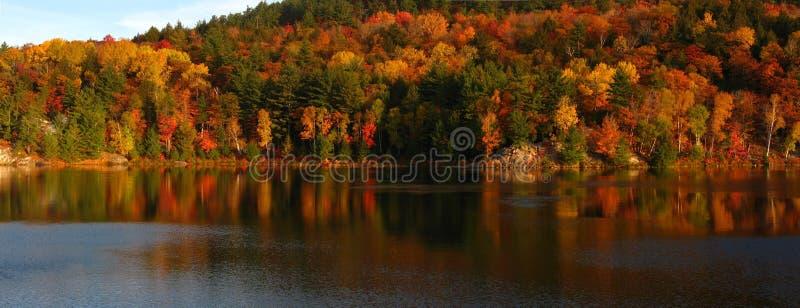dnia jezioro George s. obraz stock
