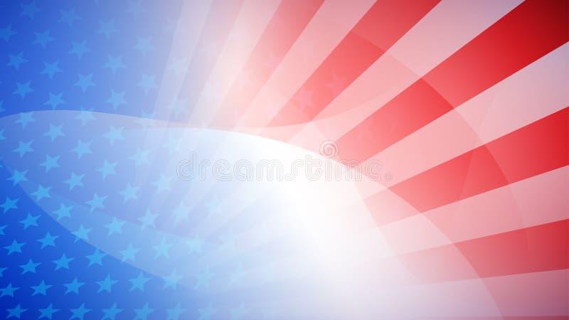 Dnia Niepodległości abstrakta tło ilustracji