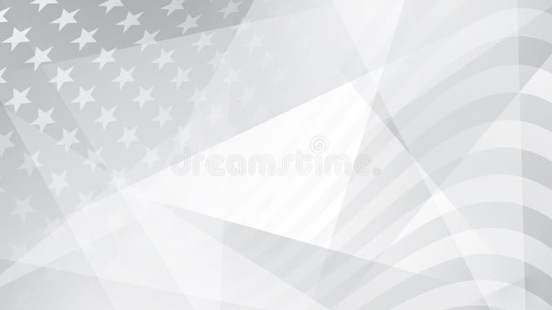 Dnia Niepodległości abstrakta tło ilustracja wektor