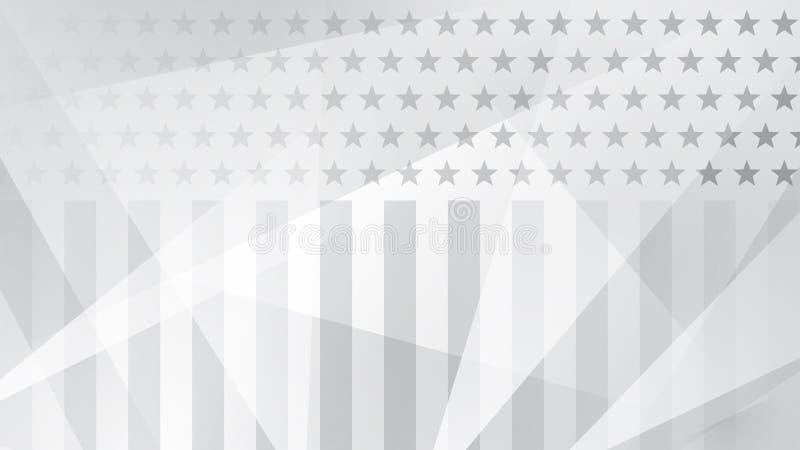 Dnia Niepodległości abstrakta tło royalty ilustracja