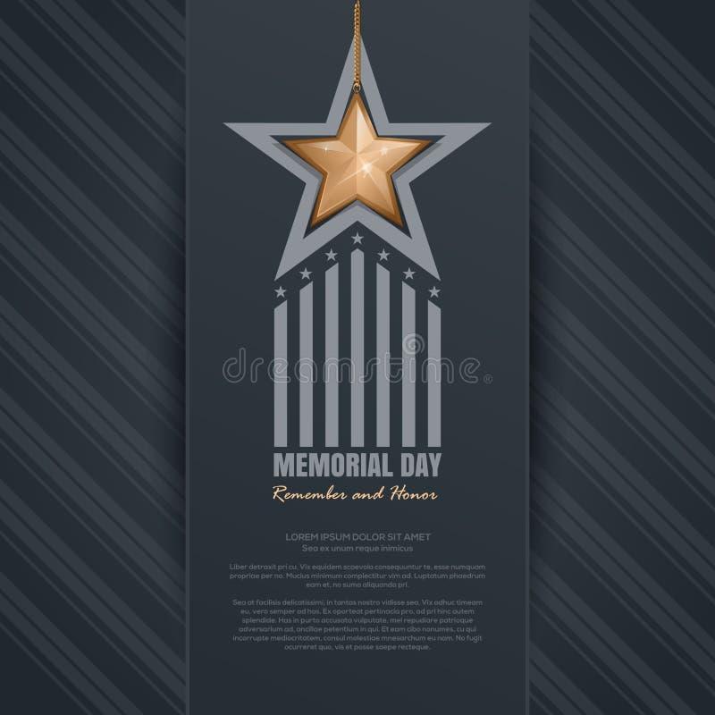 Dnia Pamięci projekt Pamięta I Honoruje ilustracji