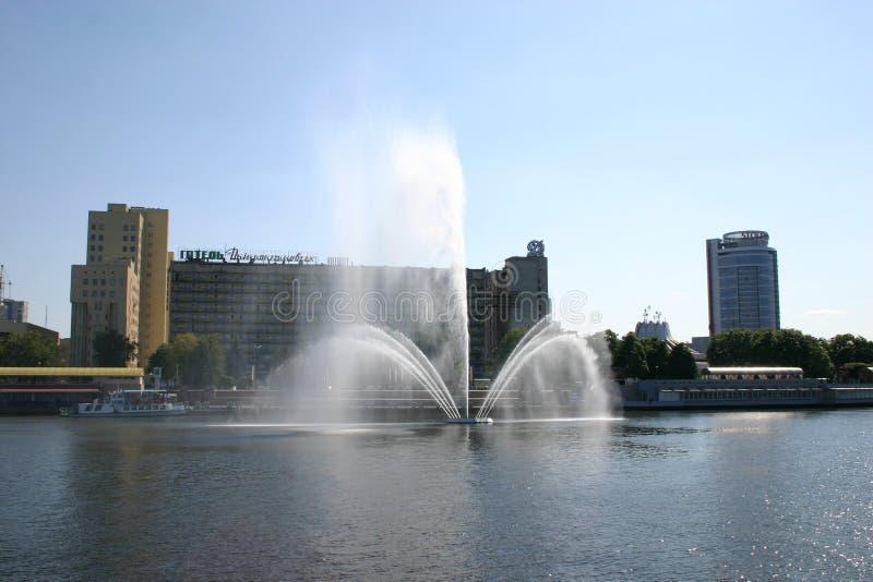 DnieperÑŽ的城市 图库摄影
