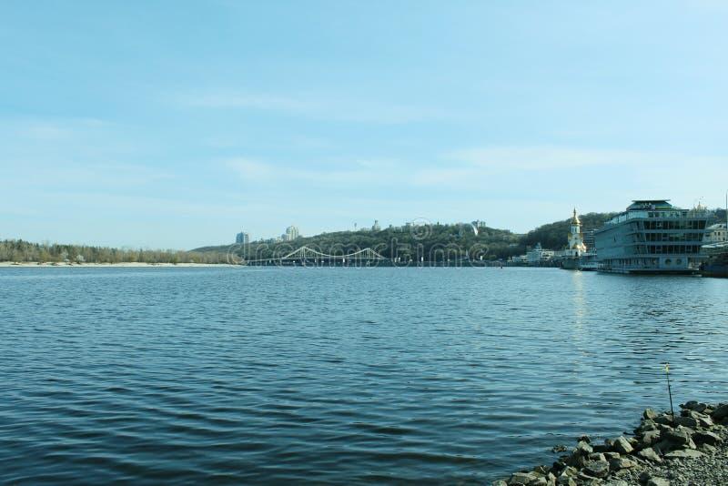Dniper河 免版税库存照片