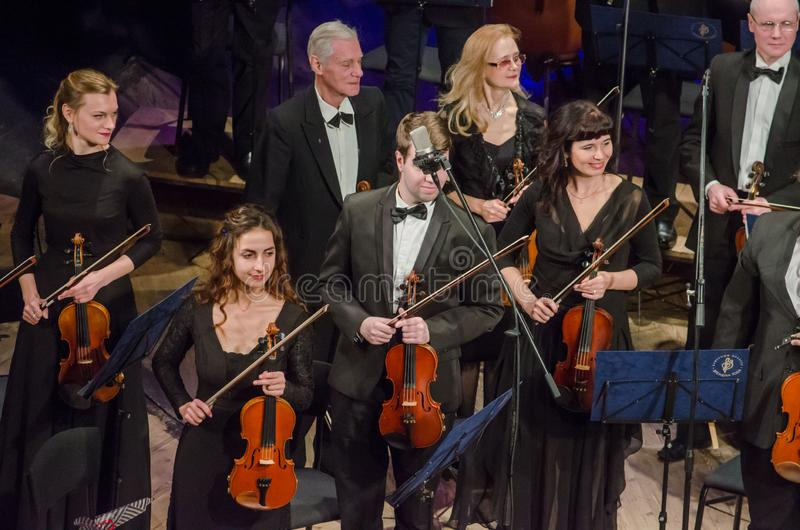 FOUR SEASONS Chamber Orchestra stock photography