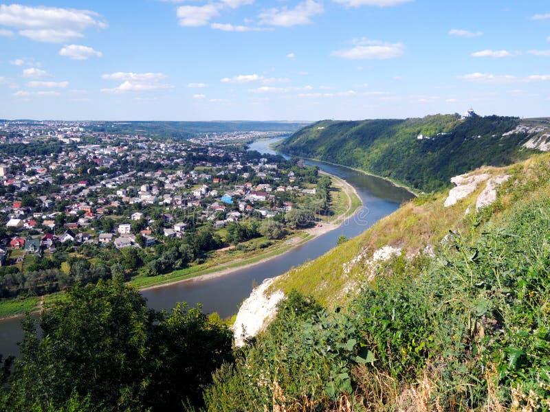 Dnister-Fluss lizenzfreie stockbilder