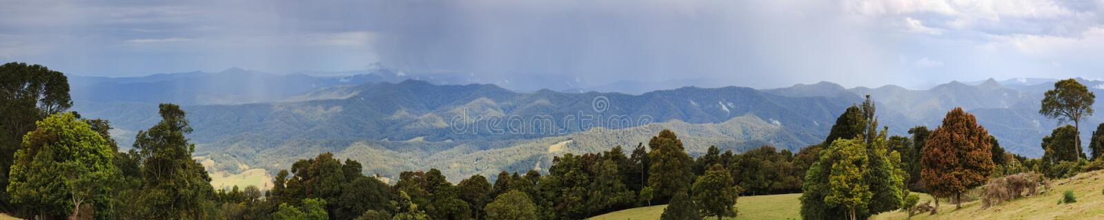 DNP Pan 03 Rain Wide Royalty Free Stock Images