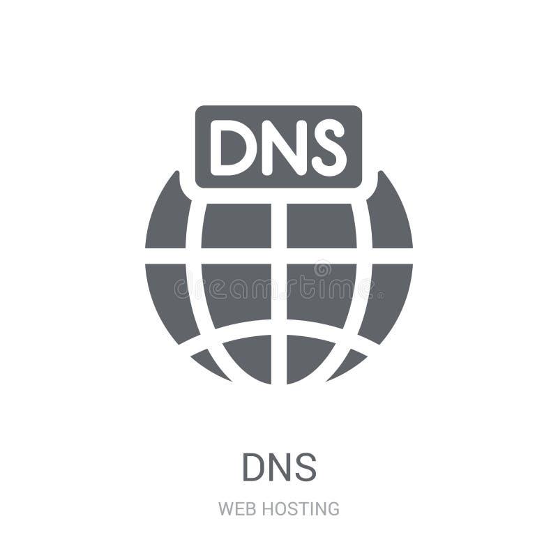 DNS象  向量例证