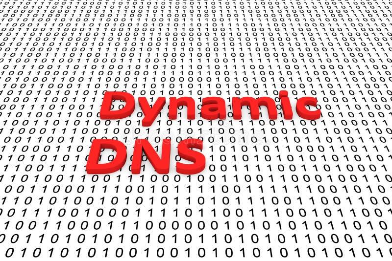 DNS dinamico royalty illustrazione gratis