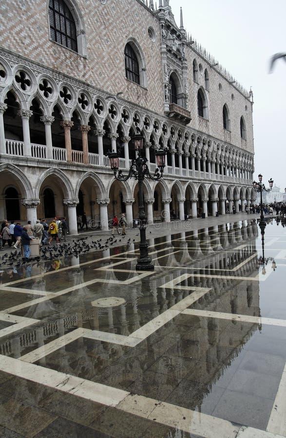 doża Wenecji piazzetta pałacu. fotografia royalty free