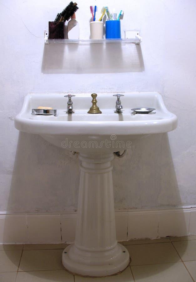do łazienki retro zdjęcia royalty free