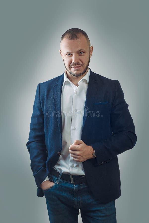 Do advogado busi masculino encantador do executivo do banqueiro do contador possivelmente imagens de stock