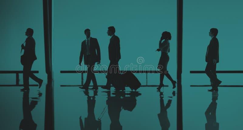 Do curso executivos do conceito de passeio do passageiro fotografia de stock royalty free