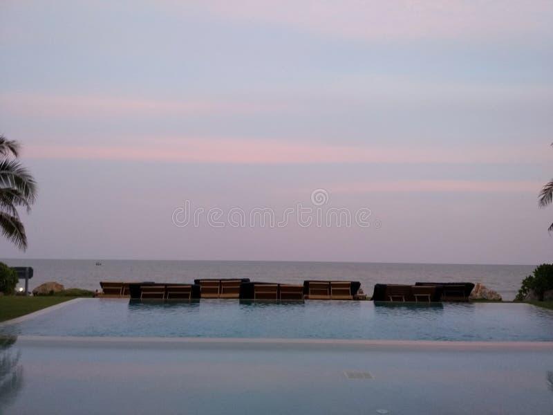 ½ do  de Sunsetæ-¥è fotografia de stock