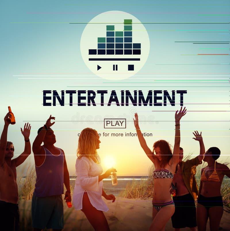 Do entretenimento do prazer conceito do ato do desempenho por favor imagem de stock royalty free