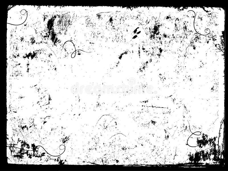 do frame de Grunge II. ilustração stock