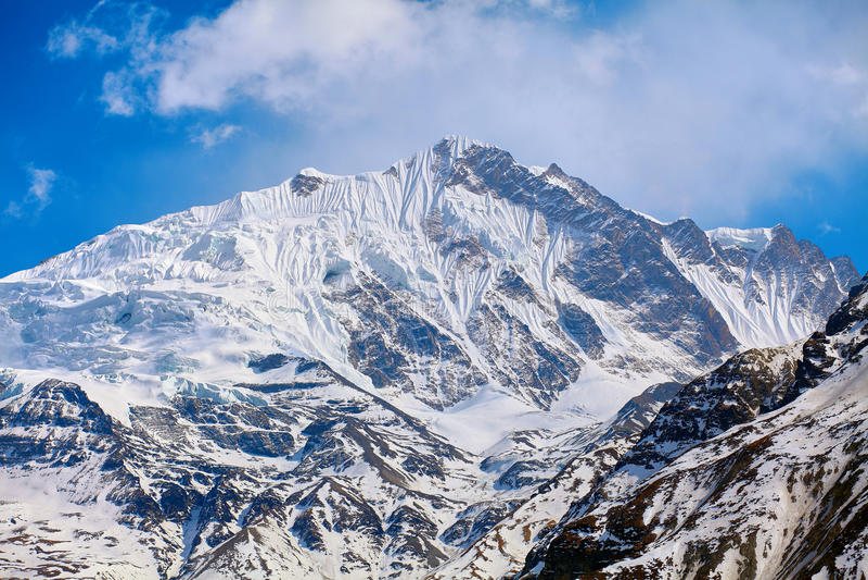 Download Do góry śnieżne obraz stock. Obraz złożonej z niebo, natura - 53786351