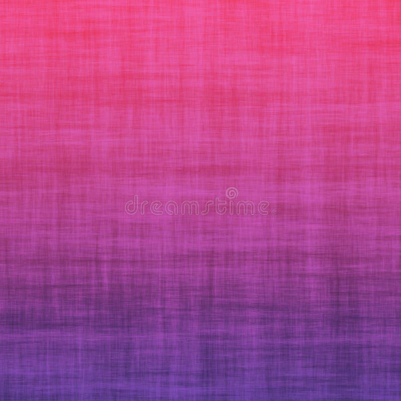 Do Grunge teste padrão mínimo do fundo brilhante do verão do sumário do inclinação de Violet Pink Cotton Linen Ombre ultra foto de stock