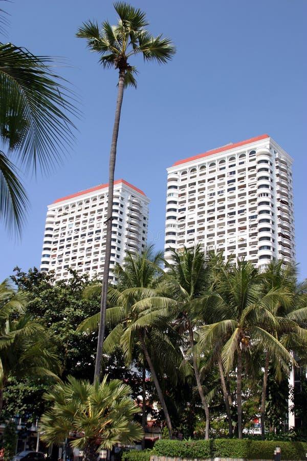 do hotelu tropical zdjęcia royalty free