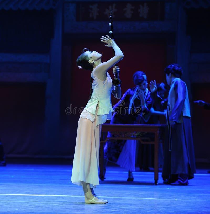 Do instrumento- o ato o mais precioso primeiramente de eventos do drama-Shawan da dança do passado imagens de stock royalty free