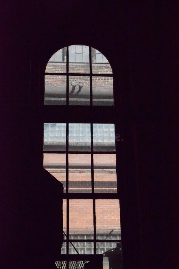 Do interior da vista para fora, Bethlehem Steel fotos de stock royalty free