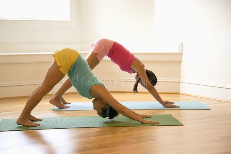 do kobiety fizycznych fitness zdjęcie stock