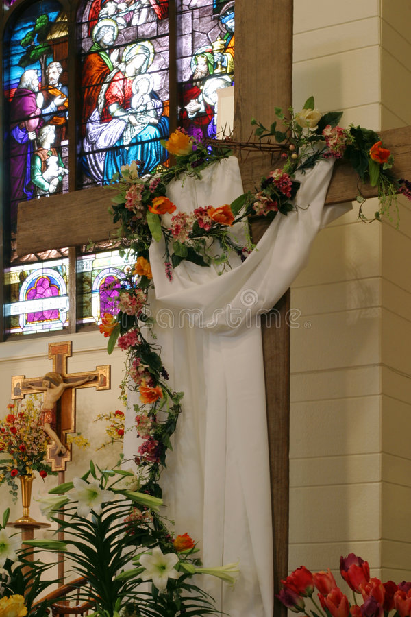 Do nascimento à ressurreição imagens de stock