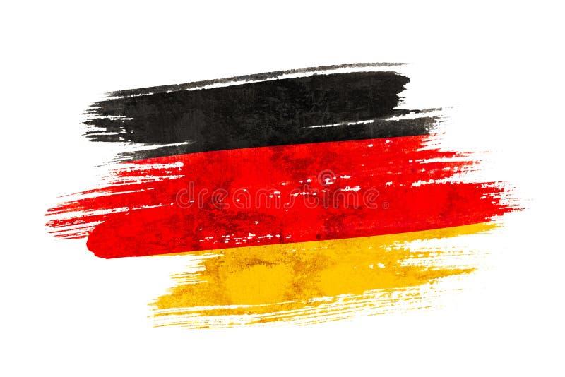 do Niemiec bandery okulary stylu wektora royalty ilustracja