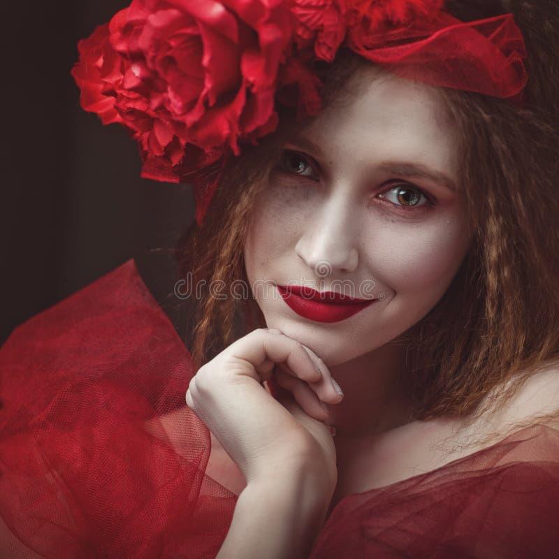 Free Do Not Awake The Sleeping Demon. Female Ethno Portrait Royalty Free Stock Images - 119212679