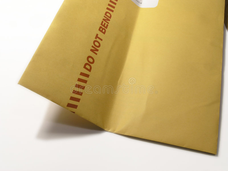 Do Not Bend - BENT royalty free stock photo