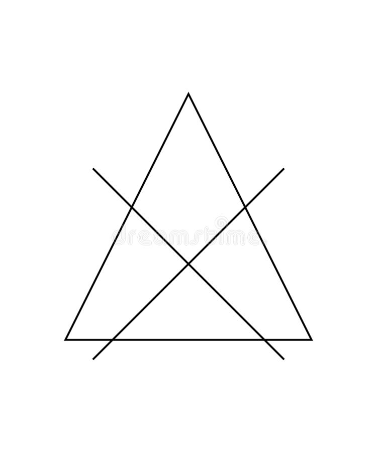 Do not bleach the mark. Crossed triangle sign. Symbol for the care of clothing. Eps ten stock illustration