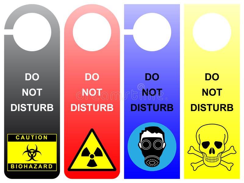 Download Do not disturb stock vector. Image of sleep, biohazard - 10166004