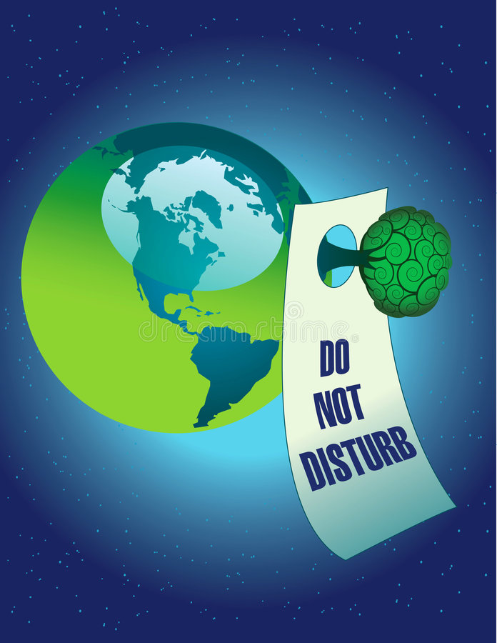 Do Not Disturb Nature Royalty Free Stock Images
