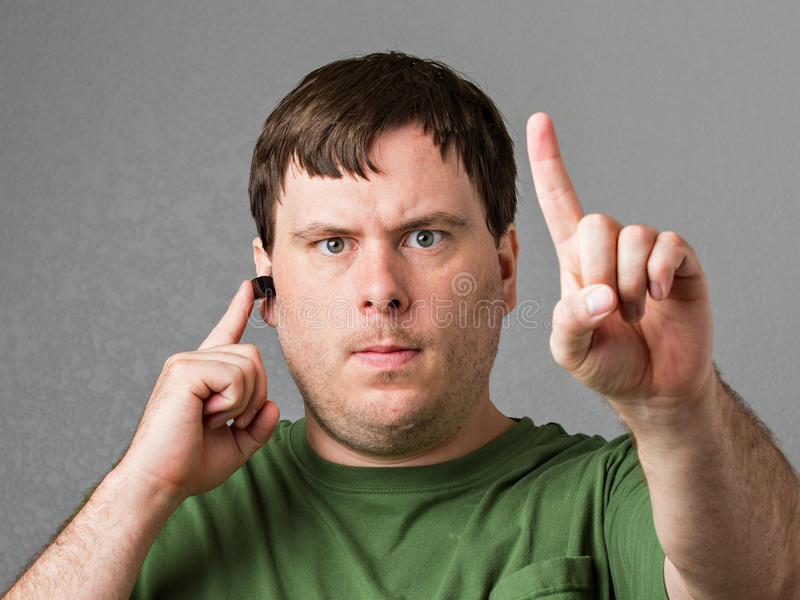 Download Do NOT interupt me stock photo. Image of annoy, face - 26009152