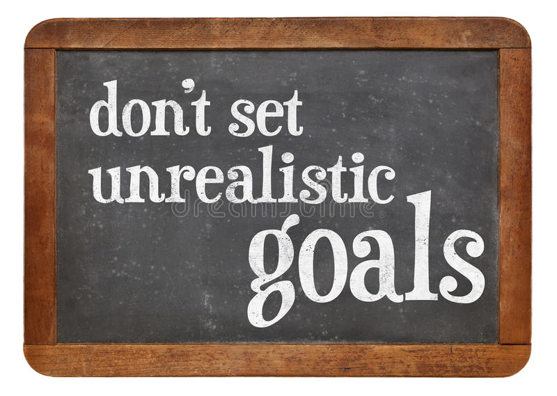 Image result for unrealistic goals