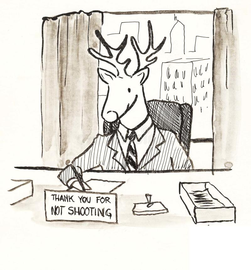 Do not shoot stock illustration