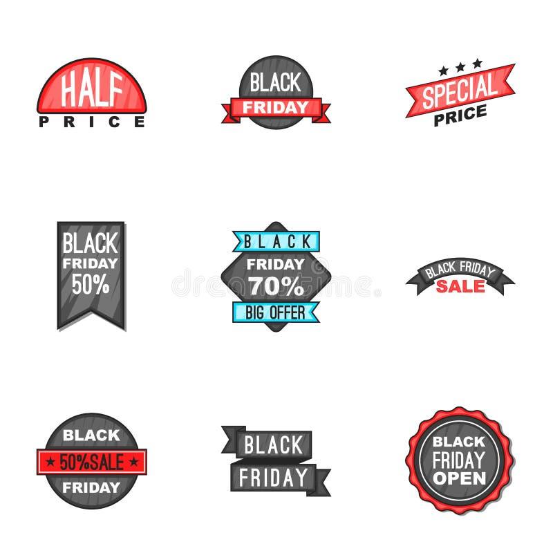 Download Do Preço ícones Ajustados, Estilo Para Baixo Dos Desenhos Animados Ilustração do Vetor - Ilustração de mercado, emblema: 80101674