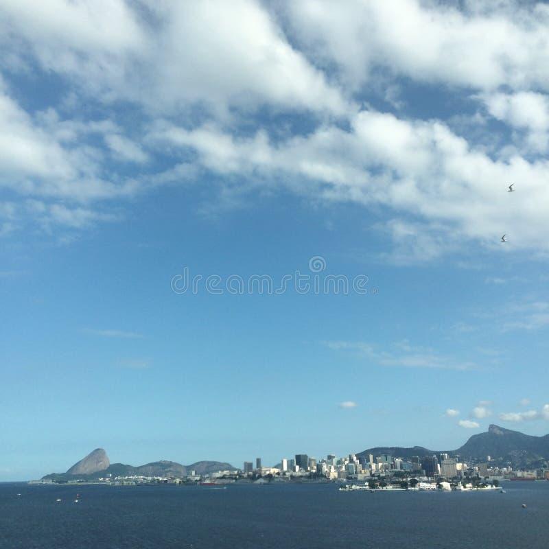³ do Rio-Niterà de Ponte mim imagem de stock royalty free