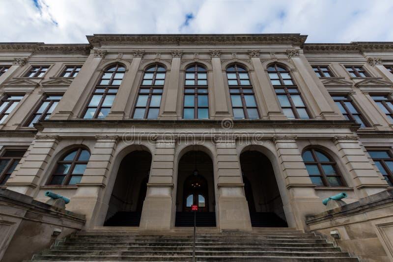 do stolicy stanu Georgia budynku fotografia stock