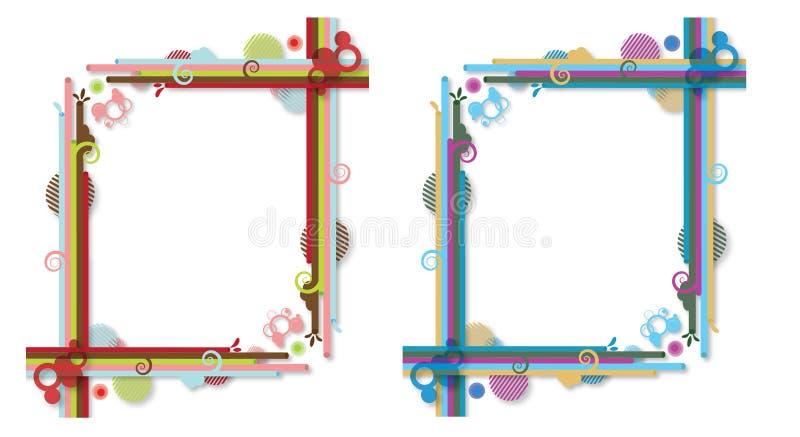 Do sumário frames colorida ilustração royalty free