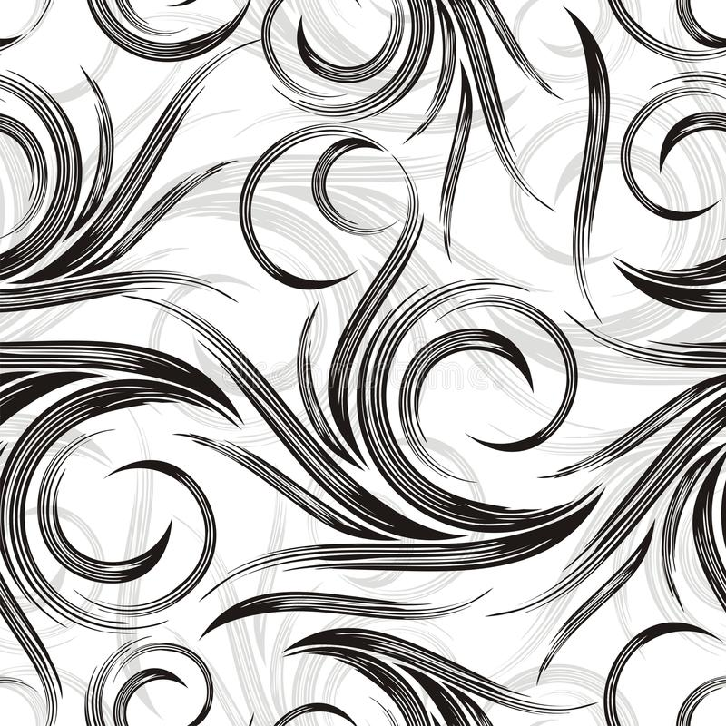 Do vetor fundo swirly ilustração stock