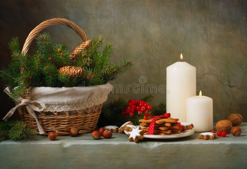 Do vintage do Natal vida ainda fotos de stock royalty free