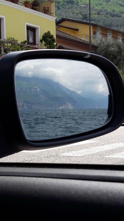 Do widzenia Jeziorny Garda zdjęcie stock