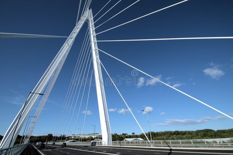 Do wierzchołka Sunderland ` s iglicy Północny most obrazy stock