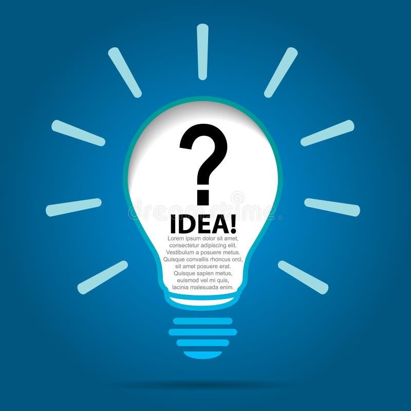 Light Process Company: Do You Have Any Ideas. Stock Vector