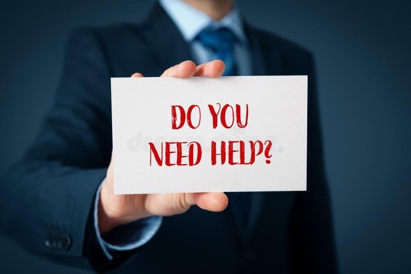 Do you need help stock image