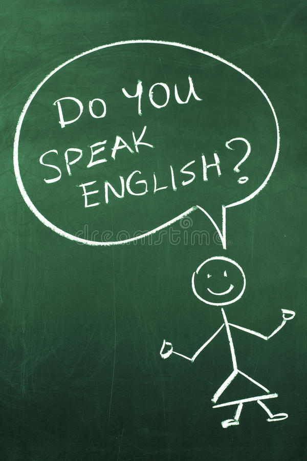 Do You Speak English stock photos